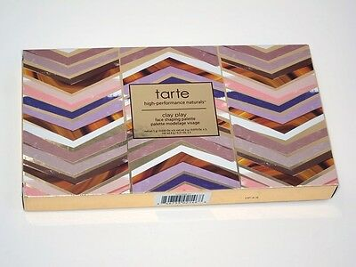 TARTE Amazonian Clay Play Face Shaping Eyeshadow Contour Palette NIB Free Ship