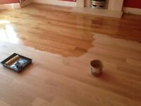 Wood floor sanding and restoration