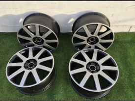 "18"" Genuime SSM Audi RS4 S4 Alloy Wheels 5x112"
