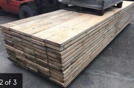 Scaffold boards new condition