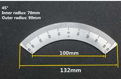 Milling Machine 45 Degree Scale Angle Plate Micrometer Fit Bridgeport Mill