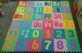 Alphabet Foam Floor Puzzle