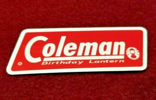 """Coleman Lantern Sticker Decal """"Birthday Lantern"""" Edition."""