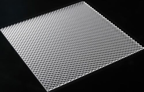 Acrylic Clear Prismatic K12 Sheet 1220x610x2 8mm Light