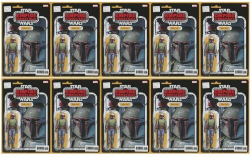 🔥 STAR WARS BOUNTY HUNTERS #1 2021 JTC ACTION FIGURE VARIANT COVER- LOT OF 10