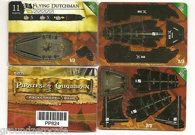 Wizkids Flying Dutchman-300 Promo Pirates Of The Caribbean Misp