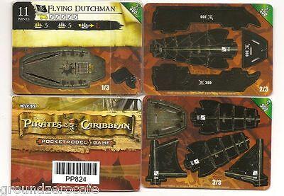 Wizkids Flying Dutchman-300 Promo Pirates Of The Caribbean Misp