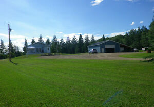 18 Acres with House, Shop 10 min East of Grande Prairie