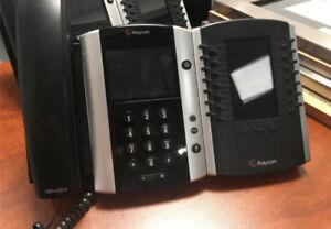Polycom VVX500 - 2 ports, 12 lignes, écran tactile couleur, POE