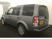 2012 GREY LAND ROVER DISCOVERY 4 3.0 SDV6 XS DIESEL AUTO CAR FINANCE FR £67 PW