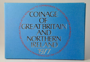 1977 Proof Coin Set Coinage of Great Britain & Northern Ireland
