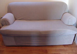 Sofa Bed -with cover  good Condition from  smoke-free home. Oakville / Halton Region Toronto (GTA) image 8