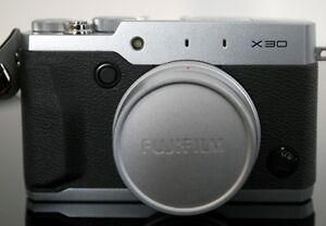Like new Fuji X30