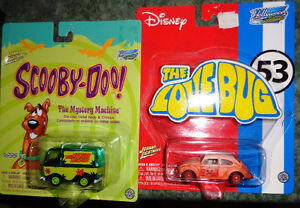 Disney Hollywood on Wheels Love Bug Volkswagen Scooby Doo Van