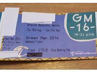 Green Man Festival 2016 Tickets