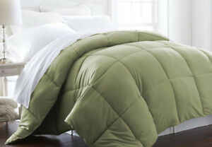 Home Collection Down-Alternative Baffle Box Comforter QUEEN
