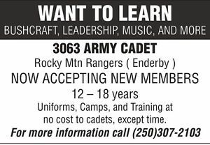 Army Cadets - Enderby and Area