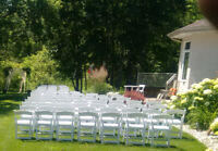 Table & Chair Rentals, Delivery & Setup Available