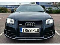 """2009 Audi A3 Black Edition S Tronic S Line 3dr 18"""" Rs4 TDI"""