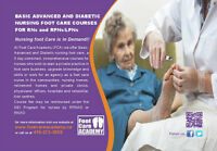 Basic, Advanced & Diabetic Nursing Foot Care Course Available