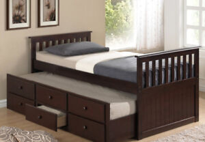 New day bed with trundle at wholesale price(Pay on delivery
