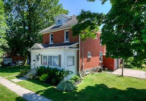 4 bedroom century home with charming original woodwork