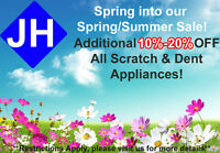 JH APPLIANCE SPRING/SUMMER SALE! (ADDITIONAL 10%-20% OFF)
