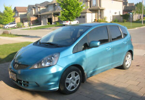 2013 Honda Fit - great condition, tinted windows, 4 snow tires!