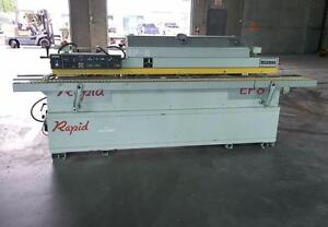 Chesia Rapid EP/8 10HP Single Sided Edgebander