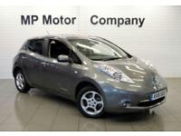 2015 15 NISSAN LEAF 0.0 ACENTA 5D AUTO 109 BHP ELECTRIC HATCH, 16-000M FNSH.