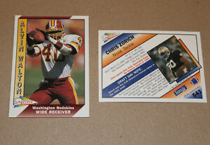 Pacific NFL football cards