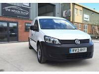2013 (13) Volkswagen Caddy 1.6TDI 75PS C20 White Manual