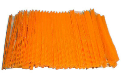 1000 Orange 1 Clothing Garment Price Label Tagging Tagger Gun Barbs Fasterners