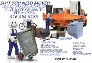 SH*T YOU DON'T NEED Junk Removal & moving Services| 416-464-9185