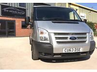 2013 (63) Ford Transit 2.2TDCi 100PS Euro 5 260S Low Roof 260 SWB Trend