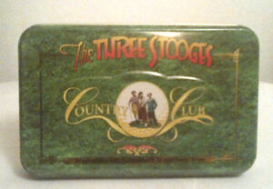 Three Stooges Card Set Poker Size (NEW)