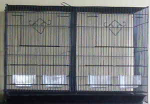 Cage double pour perruches