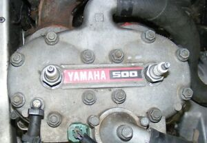 Parting out '01 Yamaha 500 engine