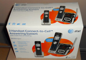 1.	AT&T Handset Phone Set – Connect to Cell Answering System