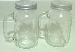 Vintage Ball Mason Jar Salt and Pepper Shakers