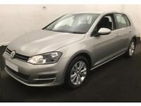 2014 SILVER VW GOLF 1.4 TSI 122 SE DSG PETROL 5DR HATCH CAR FINANCE FR £41 PW