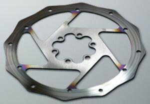 Old Worn Out Bike Disc Brake Rotor