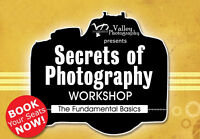 6 Week Beginner DSLR Photography Class ~ All Levels Welcome!