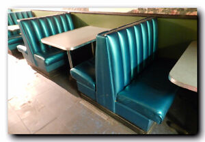 1950's Diner Booths Asst Sizes