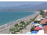 Comfortable S/C Apartment just a few minutes from natural Calis Beach, Fethiye, Turkey; sleeps 4