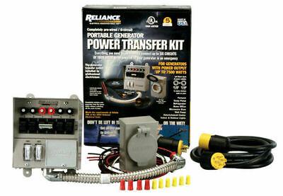 Reliance Controls 306crk Protran-2 6 Circuit Transfer Switch Kit