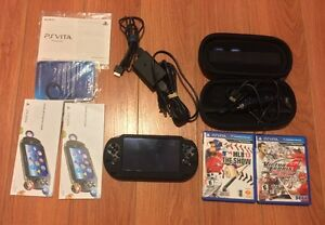 PlayStation PS Vita Wifi with 2 games