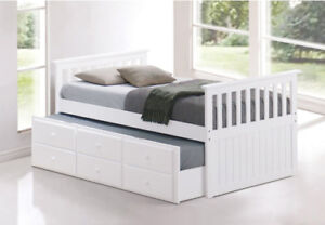 NEW DAY BED WITH TRUNDLE AT WHOLESALE PRICE (Pay on Delivery)