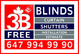 BLINDS - SHUTTERS - DRAPES & CURTAIN 647 994 9990