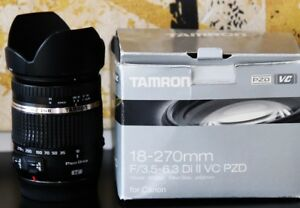 50$ off. Tamron Canon Lens AF 18-270mm f/3.5-6.3 Di II VC LD